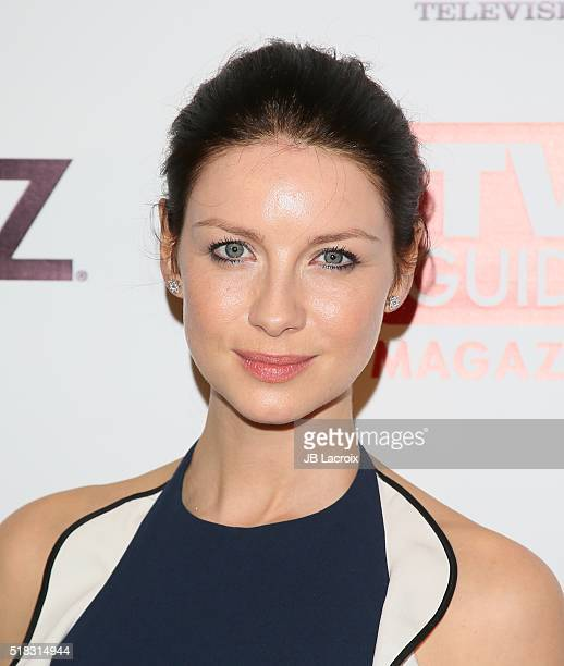 Actress Caitriona Balfe attends TV Guide Magazine Celebrates STARZ's 'Outlander' at Palihouse on March 30 2016 in West Hollywood California