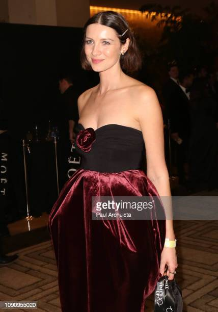 Actress Caitriona Balfe is seen in Beverly Hills on January 06 2019 in Los Angeles California