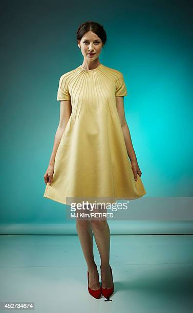 Actress Caitriona Balfe poses for a portrait at the Getty Images Portrait Studio powered by Samsung Galaxy at ComicCon International 2014 at Hard...