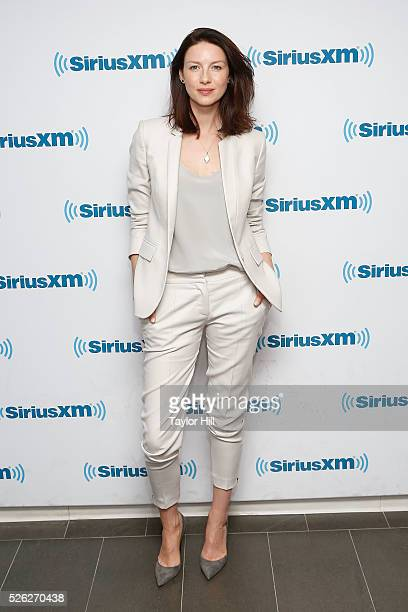 Actress Caitriona Balfe visits the SiriusXM Studios on April 29 2016 in New York New York