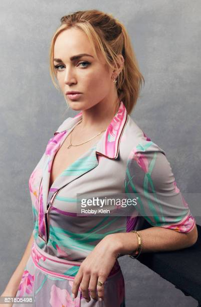 Actress Caity Lotz from CW's 'Legends of Tomorrow' poses for a portrait during ComicCon 2017 at Hard Rock Hotel San Diego on July 22 2017 in San...