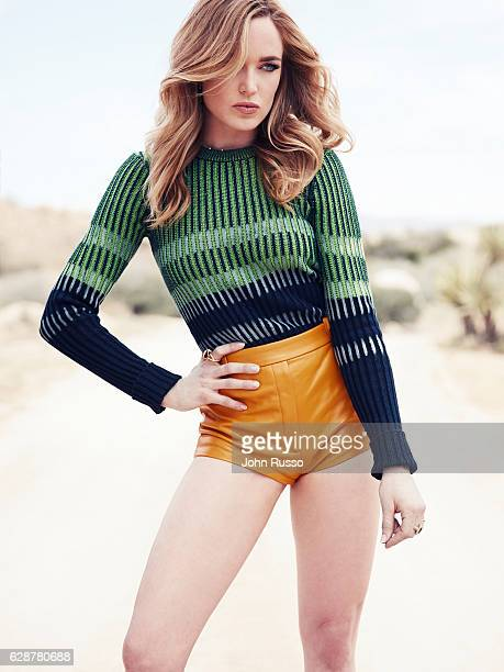 Actress Caity Lotz is photographed for Self Assignment on April 18 2016 in Los Angeles California