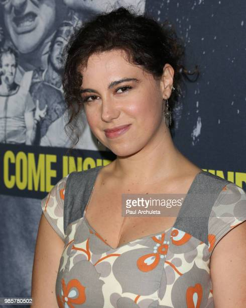 Actress Caley Leigh Chase attends the premiere of Robin Williams Come Inside My Mind from HBO Documentary Films' at the TCL Chinese Theatre IMAX on...