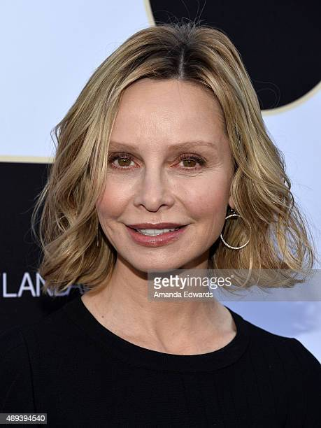 Actress Calista Flockhart arrives at the 2015 TV LAND Awards at the Saban Theatre on April 11 2015 in Beverly Hills California