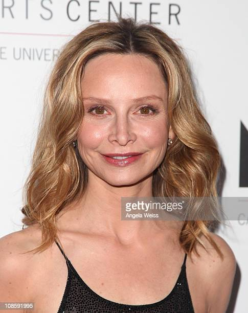 Actress Calista Flockhart arrives at the Valley Performing Arts Center Inaugural Gala Performance at California State University, Northridge on...