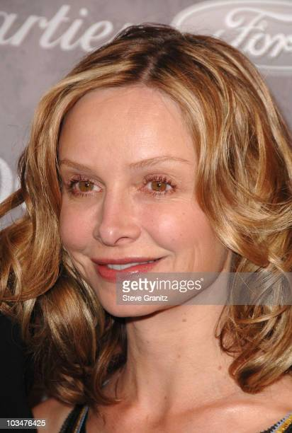 Actress Calista Flockhart arrives to The Art of Elysium 10th Anniversary Gala at Vibiana on January 12, 2008 in Los Angeles, California.