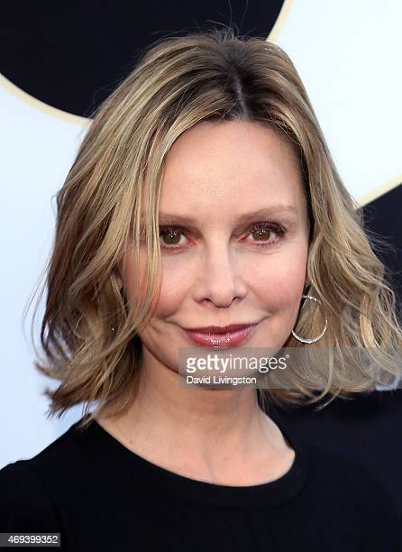 Actress Calista Flockhart attends the 2015 TV Land Awards at the Saban Theatre on April 11 2015 in Beverly Hills California
