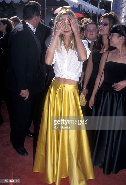 Actress Calista Flockhart attends the 51st Annual Primetime Emmy Awards on September 12 1999 at Shrine Auditorium in Los Angeles California