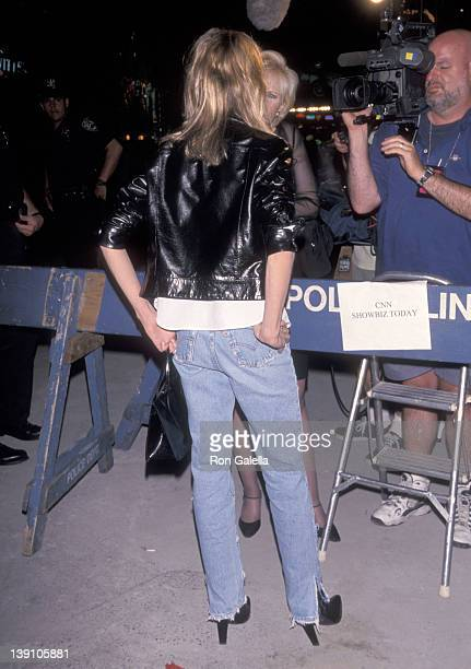 Actress Calista Flockhart attends the Bash LatterDay Plays Opening Night Performance After Party on June 24 1999 at Local in New York City