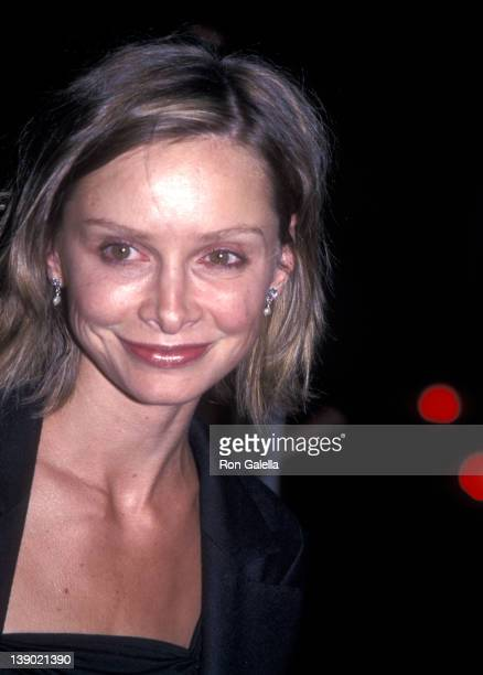 Actress Calista Flockhart attends the FOX Television Summer TCA Press Tour on July 18 2001 at Yamashio Restaurant in Pasadena California
