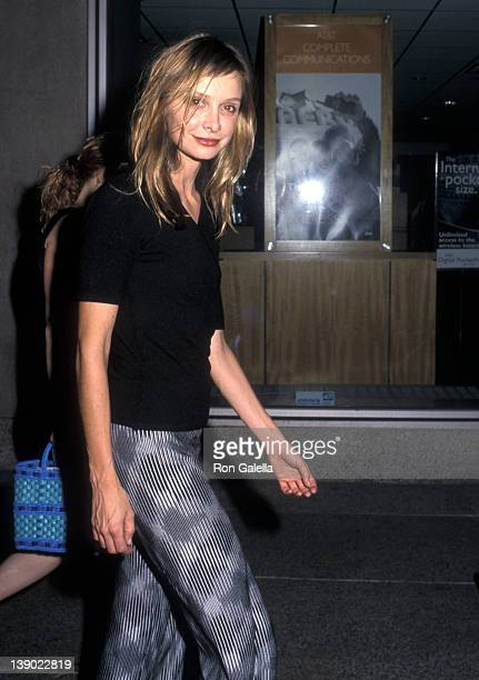 Actress Calista Flockhart attends the Neil Simon at the Neil Simon Stage Performances to Salute Playwright Neil Simon on June 26 2000 at the Neil...