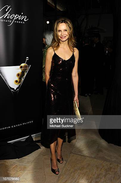 Actress Calista Flockhart attends the Santa Barbara International Film Festival's 5th Annual Kirk Douglas' Excellence In Film Awards at the The Four...