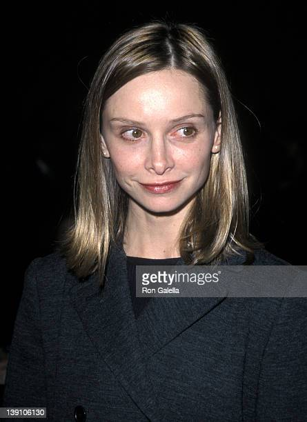 Actress Calista Flockhart attends the Tourette Syndrome Association's Second Annual Awards Dinner Salute to Cuba Gooding Jr and Maury Povich on...