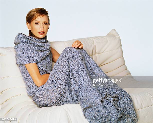 Actress Calista Flockhart is photographed for InStyle Magazine in 1999 PUBLISHED IMAGE