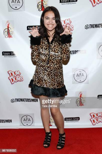 Actress Calli Matthews attends Mateo Simon's Halloween Charity Event on October 28 2017 in Burbank California