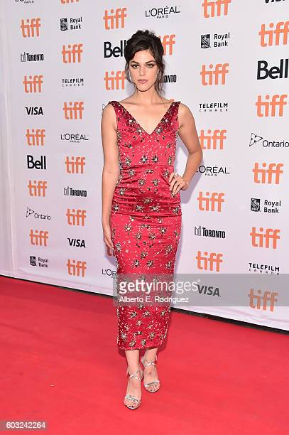 Actress Callie Hernandez attends the La La Land Premiere during the 2016 Toronto International Film Festival at Princess of Wales Theatre on...