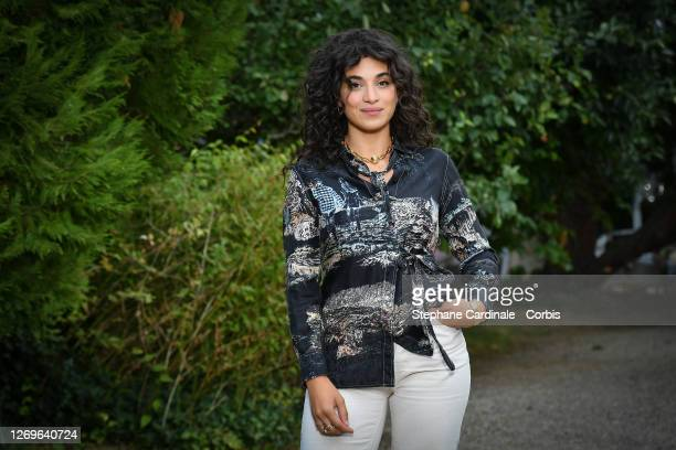"""Actress Camelia Jordana attends the """"Les Choses Qu'Ont Dit Les Choses Qu'on Fait"""" Photocall at 13th Angouleme French-Speaking Film Festival on August..."""