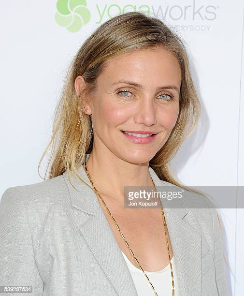 Actress Cameron Diaz arrives at Because Age Is A State Of Mind Cameron Diaz Joins MPTF To Celebrate Health And Fitness at The Wasserman Campus on...
