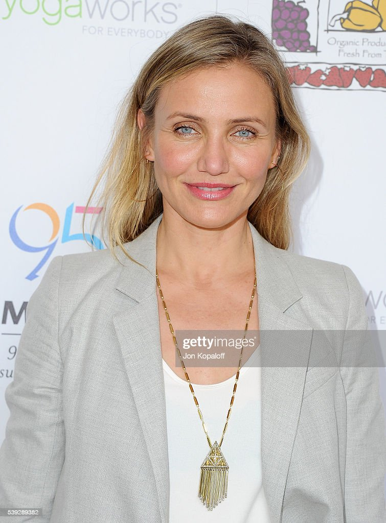 Because Age Is A State Of Mind: Cameron Diaz Joins MPTF To Celebrate Health And Fitness : News Photo