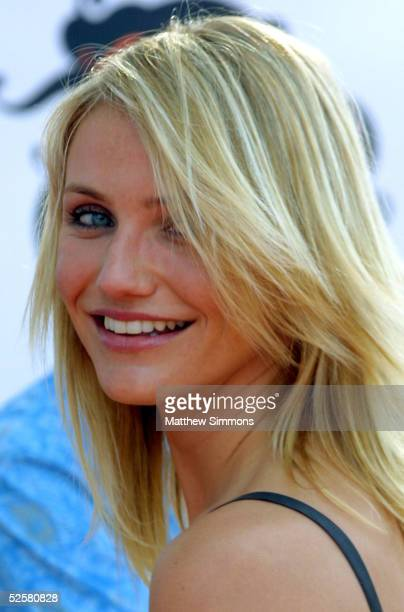 Actress Cameron Diaz arrives at the 18th Annual Kids Choice Awards at UCLA's Pauley Pavillion on April 2 2005 in Westwood California