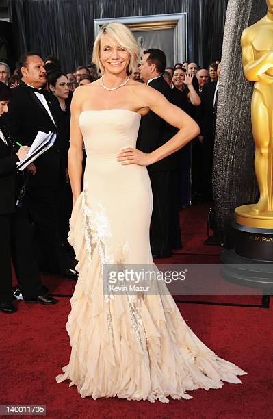 Actress Cameron Diaz arrives at the 84th Annual Academy Awards held at the Hollywood Highland Center on February 26 2012 in Hollywood California