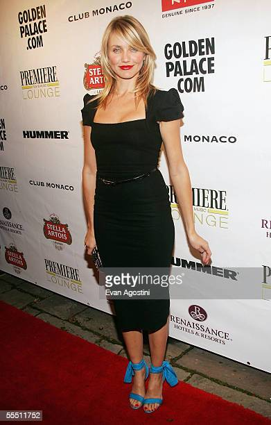 Actress Cameron Diaz arrives at the In Her Shoes gala premiere after party at Club Monaco during the 2005 Toronto International Film Festival...