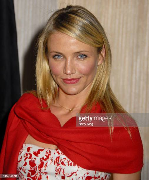 Actress Cameron Diaz at the 2008 Crystal Lucy Awards 'A Black And White Gala' held at the Beverly Hilton Hotel on June 17 2008 in Beverly Hills...