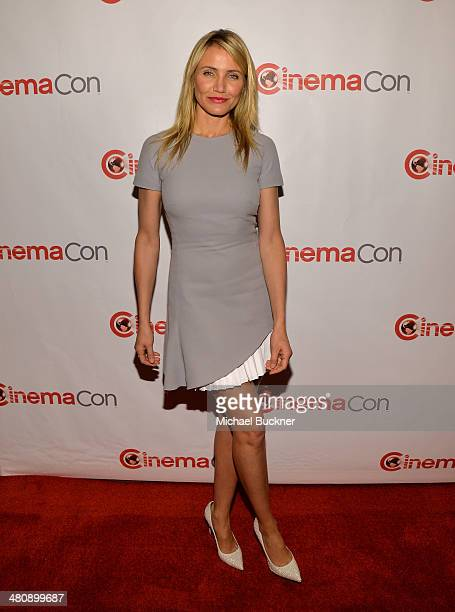 Actress Cameron Diaz attends 20th Century Fox's Special Presentation Highlighting Its Future Release Schedule during CinemaCon the official...