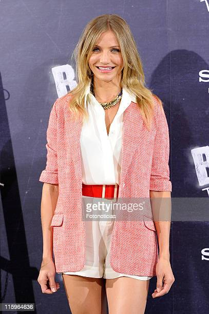 Actress Cameron Diaz attends 'Bad Teacher' photocall at the Villamagna Hotel on June 13 2011 in Madrid Spain