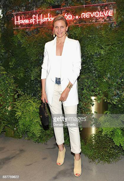 Actress Cameron Diaz attends House of Harlow 1960 x REVOLVE on June 2, 2016 in Los Angeles, California.