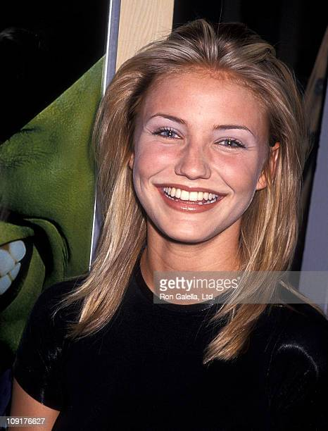 Actress Cameron Diaz attends the 13th Annual Video Software Dealers Association Convention Expo on July 24 1994 at Las Vegas Convention Center in Las...