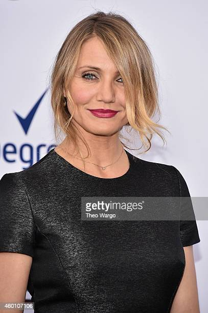 Actress Cameron Diaz attends the 'Annie' World Premiere at Ziegfeld Theater on December 7 2014 in New York City