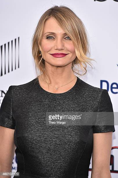 "Actress Cameron Diaz attends the ""Annie"" World Premiere at Ziegfeld Theater on December 7, 2014 in New York City."