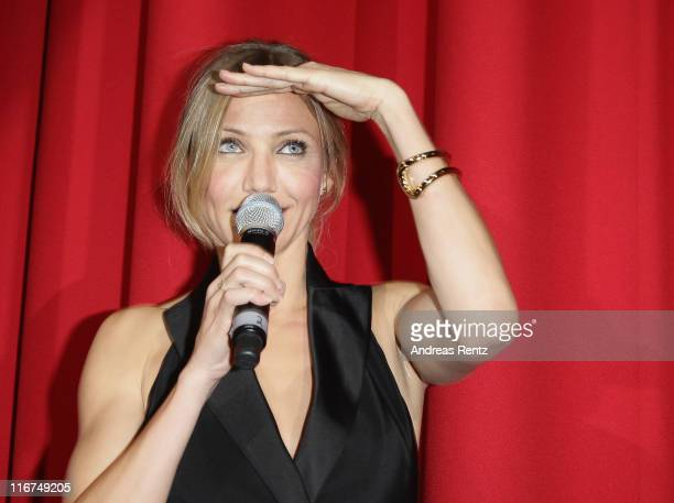 Actress Cameron Diaz attends the 'Bad Teacher' Germany Premiere at Cinestar on June 17 2011 in Berlin Germany