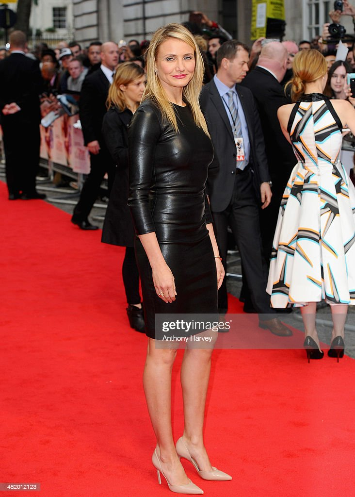 Actress Cameron Diaz attends 'The Other Woman' UK premiere at the Curzon Mayfair on April 2, 2014 in London, England.