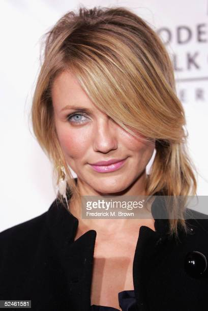 Actress Cameron Diaz attends the Rodeo Drive Walk of Style Award honoring the late Herb Ritts and Mario Testino for their contributions to the world...