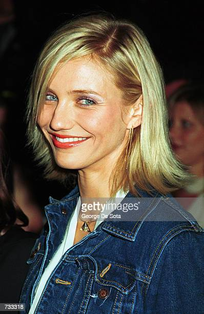 Actress Cameron Diaz attends the Special Screening of Columbia Pictures'' Charlie's Angels October 24 2000 at the Ziegfeld Theatre in New York City