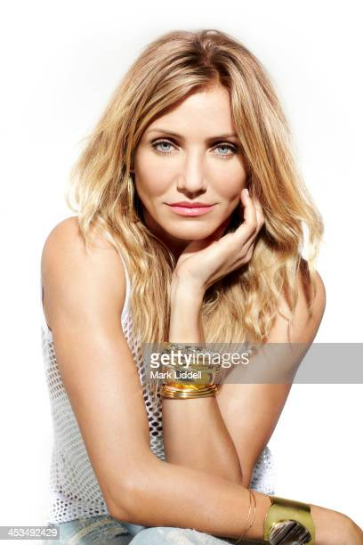 Actress Cameron Diaz is photographed for Cosmopolitan Magazine on February 17 2011 in Los Angeles California