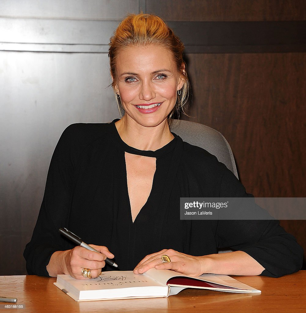 "Cameron Diaz Book Signing For ""The Body Book"""