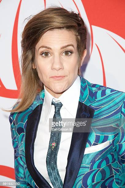 Actress Cameron Esposito attends the Screening And Reception For truTV's Adam Ruins Everything at The Library at The Redbury on August 18 2016 in...