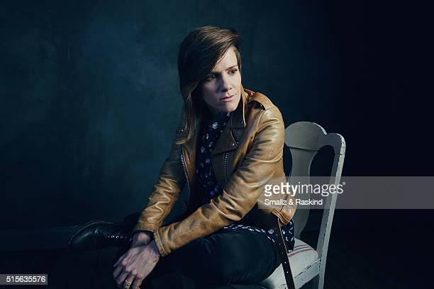 Actress Cameron Esposito of 'Operator' is photographed in the Getty Images SXSW Portrait Studio powered by Samsung at the Samsung Studio on March 13...