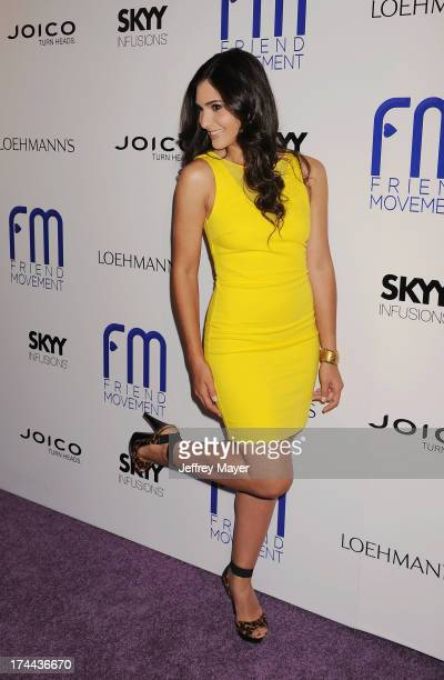 Actress Camila Banus attends the Friend Movement Anti-Bullying Benefit Concert at the El Rey Theatre on July 1, 2013 in Los Angeles, California.