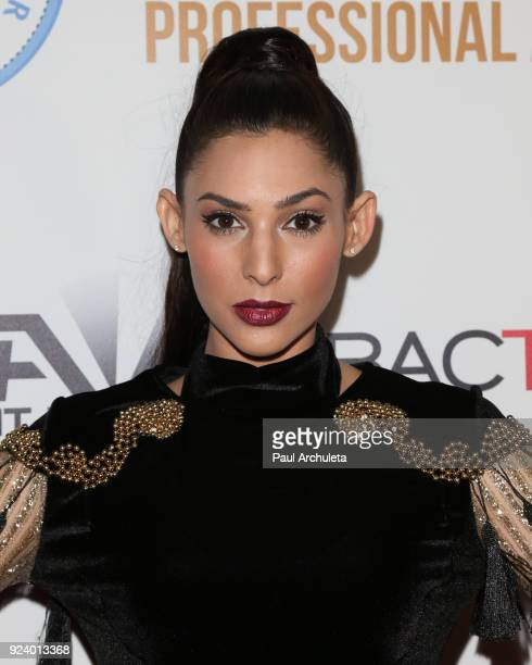 Actress Camila Banus attends the Gifting Your Spectrum gala benefiting Autism Speaks on February 24 2018 in Hollywood California