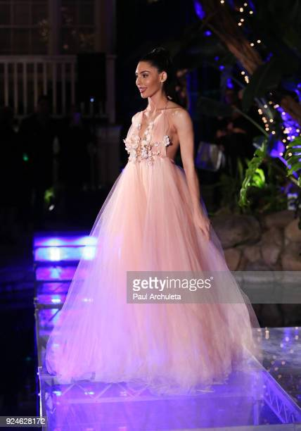 Actress Camila Banus walks the runway at the 'Gifting Your Spectrum' gala benefiting Autism Speaks on February 24 2018 in Hollywood California