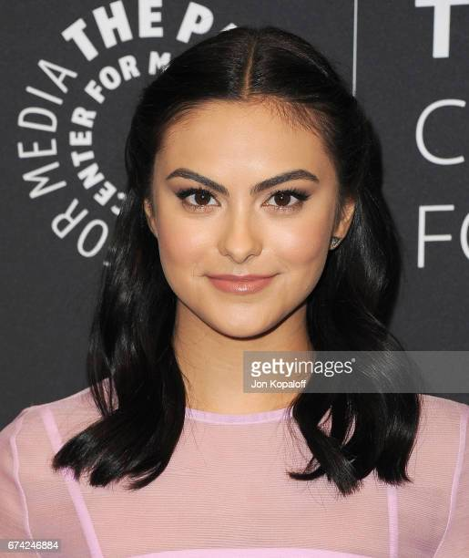Actress Camila Mendes arrives at the 2017 PaleyLive LA Spring Season 'Riverdale' Screening And Conversation at The Paley Center for Media on April 27...