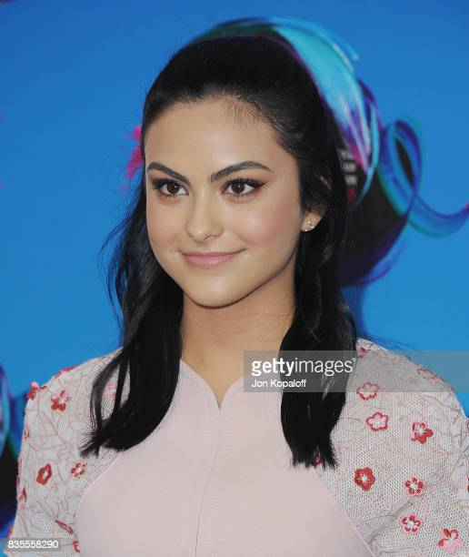 Actress Camila Mendes arrives at the Teen Choice Awards 2017 at Galen Center on August 13 2017 in Los Angeles California