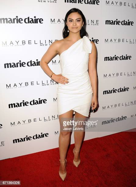 Actress Camila Mendes attends Marie Claire's Fresh Faces event at Doheny Room on April 21 2017 in West Hollywood California