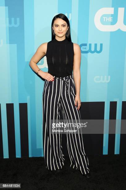 Actress Camila Mendes attends the 2017 CW Upfront on May 18 2017 in New York City