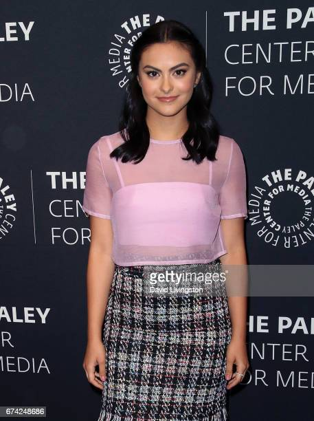 Actress Camila Mendes attends the 2017 PaleyLive LA Spring Season Riverdale screening and conversation at The Paley Center for Media on April 27 2017...