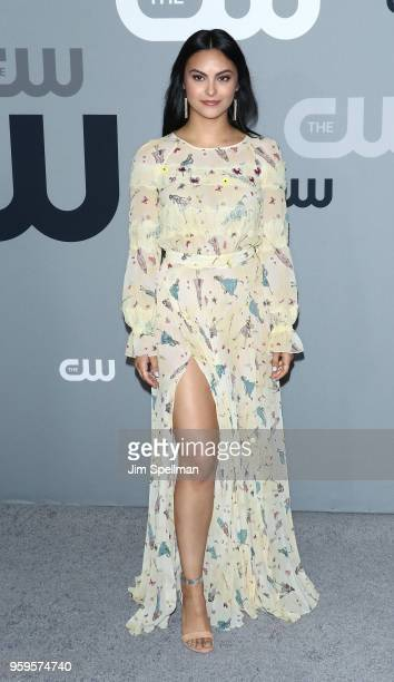 Actress Camila Mendes attends the 2018 CW Network Upfront at The London Hotel on May 17 2018 in New York City